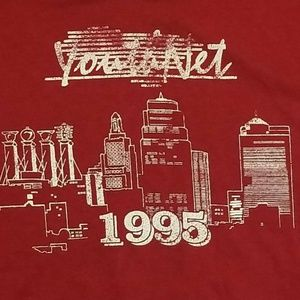 VTG FRUIT of The LOOM BEST YouthNet 1995 XL tshirt